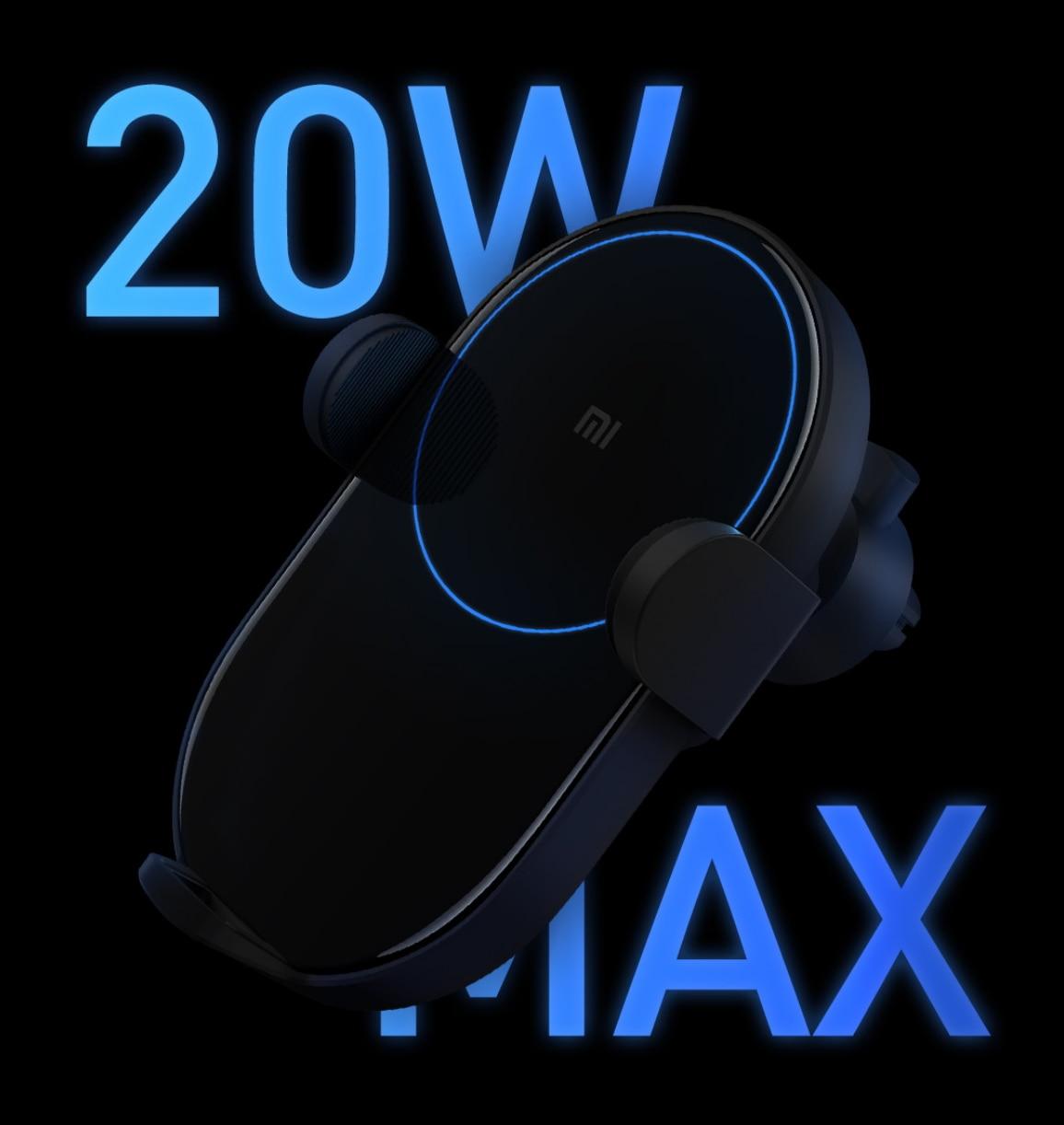 Image 4 - Беспроводное Автомобильное зарядное устройство Xiaomi Mijia, 20 Вт Max Qi электрическое автоматическое зажимное кольцо 2.5D со стеклянным кольцом для Mi 9 MIX 2S iPhone X XS MAXcharger xiaomi originaloriginal charger xiaomicar lighter usb  АлиЭкспресс