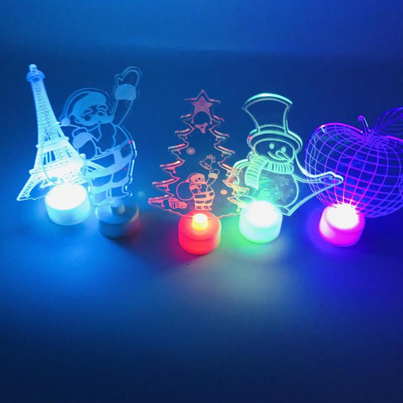 Christmas Led.Us 2 16 40 Off Christmas Tree Santa Claus Snowman Led Night Light Home Decor Lamp Xmas Gifts Led Light On Aliexpress 11 11 Double 11 Singles Day