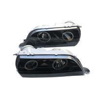 A pair Car LED Projector Halo Headlight  For Toyota CHASER GX100 JZX100 1996 1997 1998 1999 LED Dragon Price