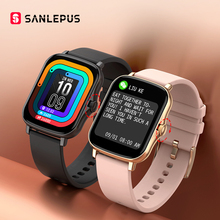 SANLEPUS 2021 New Smart Watch Waterproof Fitness Bracelet Men Women Smartwatch Heart Rate Monitor GTS 2 For Android Apple Xiaomi