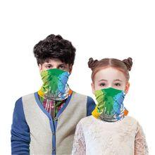 Scarf Cycling-Mask Magic-Headband Multi-Function Sports Children Boys Girls Breathable