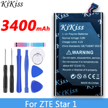 3400mAh High Capacity Battery For ZTE Star 1 S2002 STAR1 Mobile