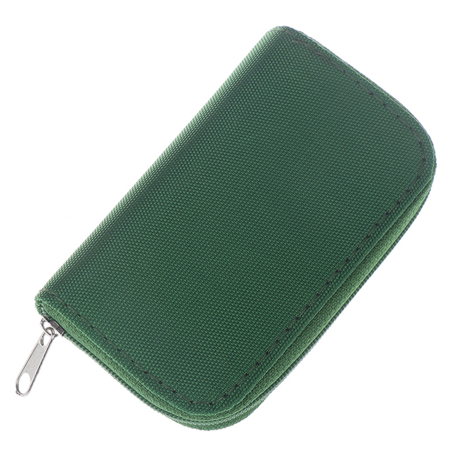 Goodfans Memory Card Storage Carrying Pouch Case Holder for CF//SD//SDHC//MS//DS Memory Card Cases