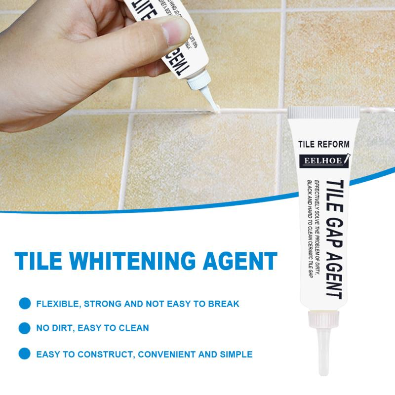 Tile Whitening Agent Beautiful Seaming Agent White Paste For Tile Ground Seaming Whitening Of Ground Joints Tile Grout TSLM2