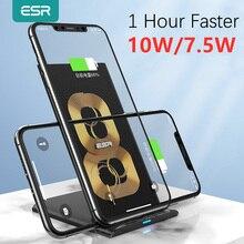 ESR szybka bezprzewodowa szybka ładowarka Qi 10W 7.5W dla iPhone 11 Pro Xs Max Xr X 8 Plus stojak szybkie ładowanie dla Samsung S10 S9 S8 Plus
