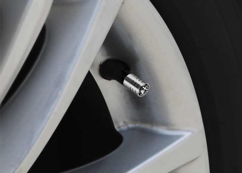עבור אלפא רומיאו ג 'ולייטה עכביש GT Giulia מיטו 147 סטיילינג גלגל צמיג שסתומים צמיג אוויר כובעי ספורט תלתן תג סמל רכב מדבקה