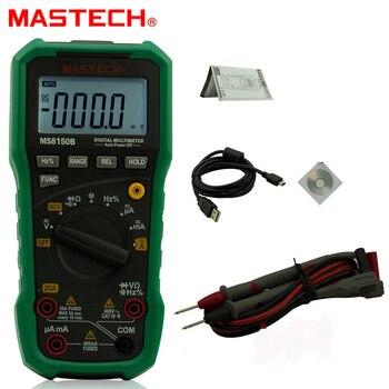 Digital Multimeter Mastech MS8150B Portable Tester Meter Voltage Current Resistance Electrical USB Tecrep Diagnostic-tool