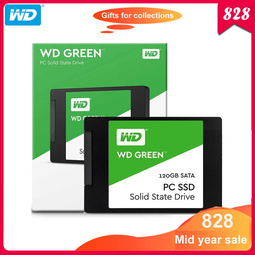 Original Western Digital SSD 120GB 240GB Solid State Drive Hard Disk 480GB TLC 2.5
