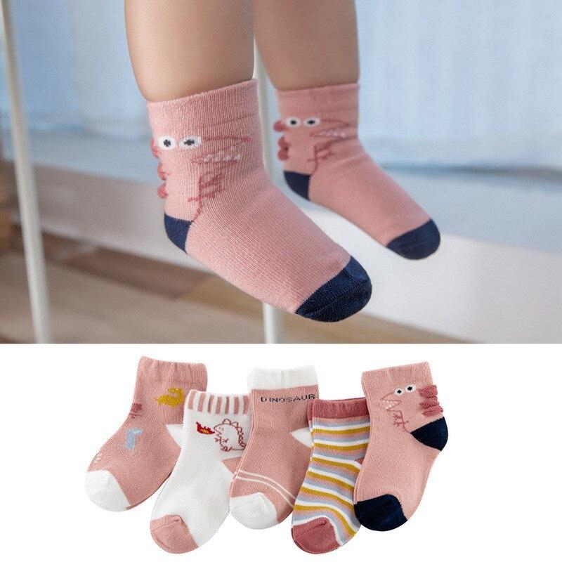 10Pairs/Lot Baby Boys Socks Spring Autumn Cotton Newborn Baby Girls Socks Fashion Casual Kids Socks for Children Age for 1-12Y 3