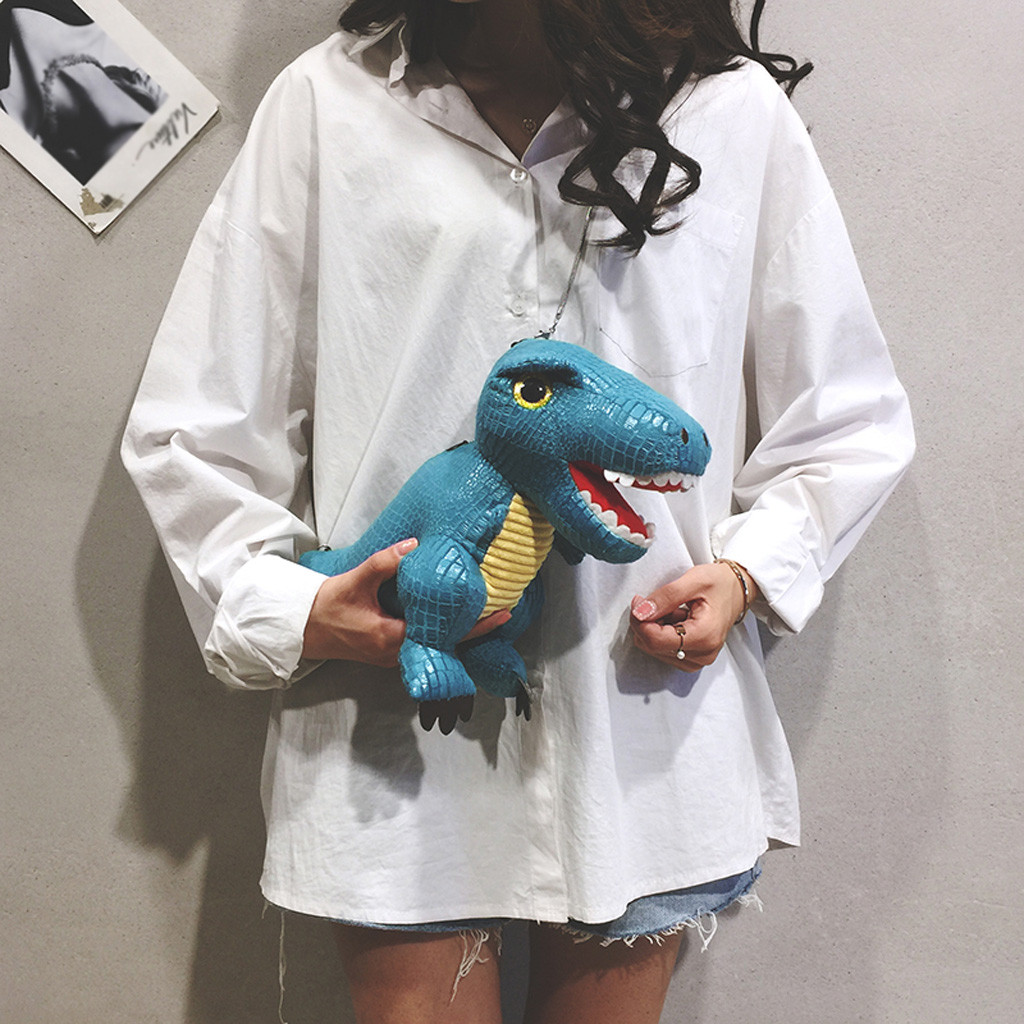 Girl Bag Shoulder-Bag Cartoon Fashion Dinosaur 38 Doll Damskie Torebki Boy