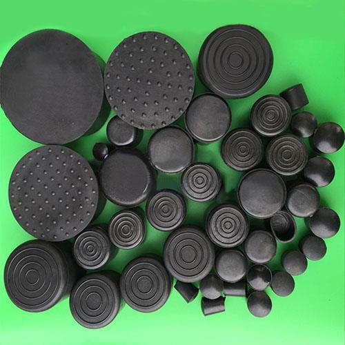 20PCS/lot 32 35 38 40 42 45 48 50 60 63mm Round chair leg feet cap,cover pad furniture pipe protector floor scratch proof damper