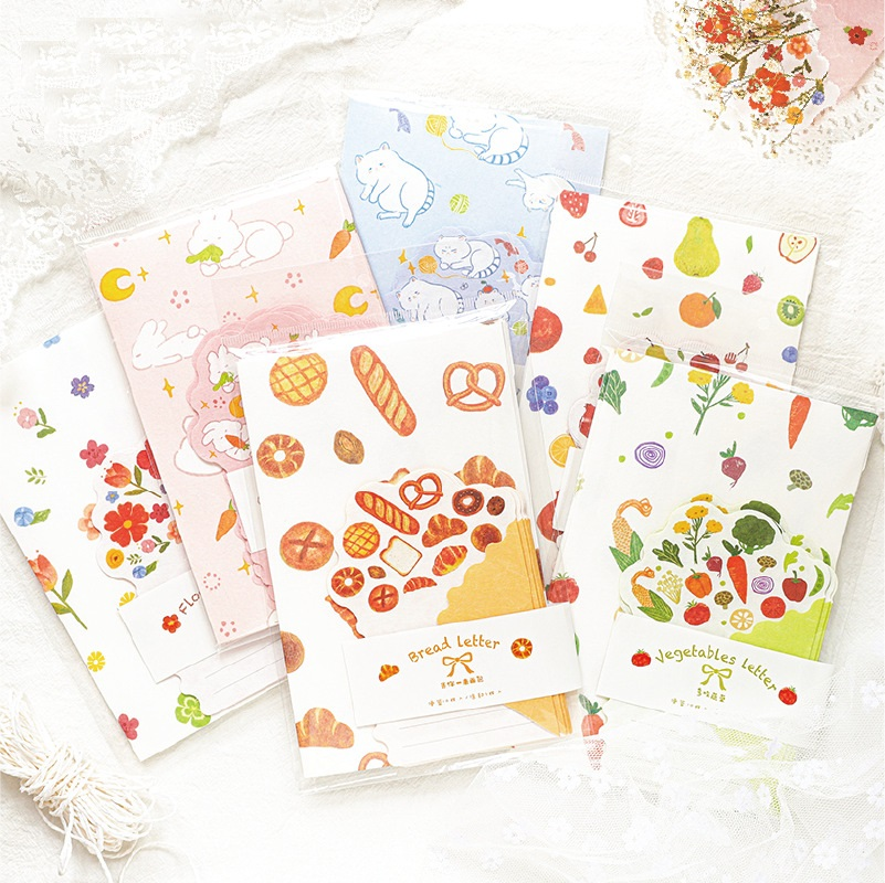 Mohamm Send You A Bunch Of Flowers Memo Pad Cute Kawaii Sticky Note Stationery