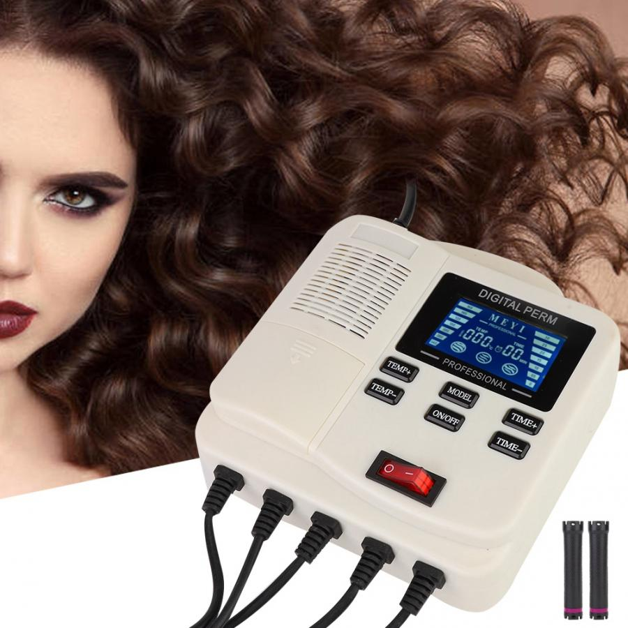Hair-Perm-Machine Mini Styling-Tool Heating Digital Portable PTC Us With Upgrade Home-Use