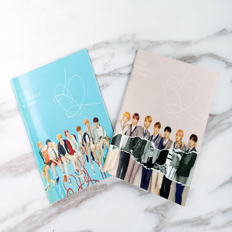 BTS Bulletproof Boys New Album Knot Celebrity Style Laptop Notebook Exercise Book Notebook Related Products