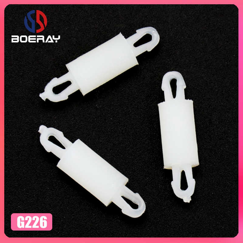 50Pcs Rohs 2.5Mm 2.0Mm Hole Fixed Nylon Plastic PCB Board Reverse Locking Circuit Board Support Spacer Pillar Standoff G226-2-4