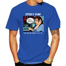Steely Dan Live On The Radio 74 And 93 MenS T-Shirt Size S To 2Xl Slogans Customized Tee Shirt
