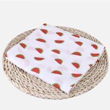 Newborn Blankets Stroller-Cover Bath-Gauze Infant-Wrap Baby Swaddles Muslin Soft 100%Cotton