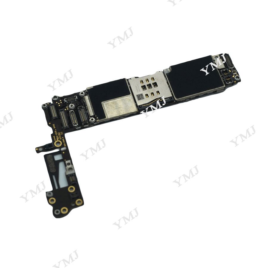 Clean iCloud for iphone 6 4.7 inch Motherboard without Touch ID,100% Original unlocked for iphone 6 Mainboard with IOS System