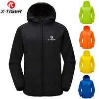 X-TIGER 10 cores mtb camisa de ciclismo multifuncional jaqueta chuva à prova dtágua vento tpu capa chuva bicicleta equipamentos roupas