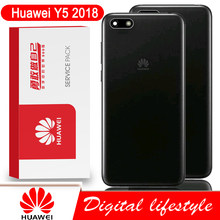 100% Original Back Housing for Huawei Y5 2018 Back Cover Battery Glass Door Rear Case Repair Parts