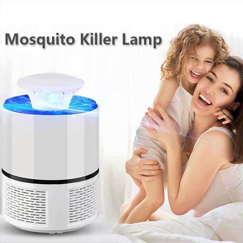 Electric Mosquito Killer Lamp USB Electronics Anti Mosquito Trap LED UV Night Light Lamp Bug Insect Killer Lights Pest Repeller