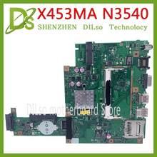 KEFU X453MA материнская плата для ASUS X453M X403MA материнская плата для ноутбука N3540-REV: 2,0 материнская плата REV2.0 интегрированный тест