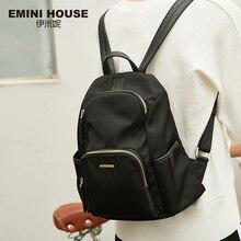 EMINI HOUSE Multifunction Backpack Waterproof Nylon Women Shoulder Bag Backpacks For Teenage Girls School