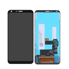 100% Tested high quality For LG Q6 M700  5.5 Inch LCD Display Touch Screen Digitizer Assembly Black,No/with Frame 100% tested high quality for lg q8 h970 v20 mini 5 2 lcd display touch screen digitizer assembly black with no frame