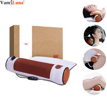 Massager Electrothermal Therapy for Cervical Pillow Fever Repair Cervical Spine Neck Shoulder Health Pillow Sleeping(China)
