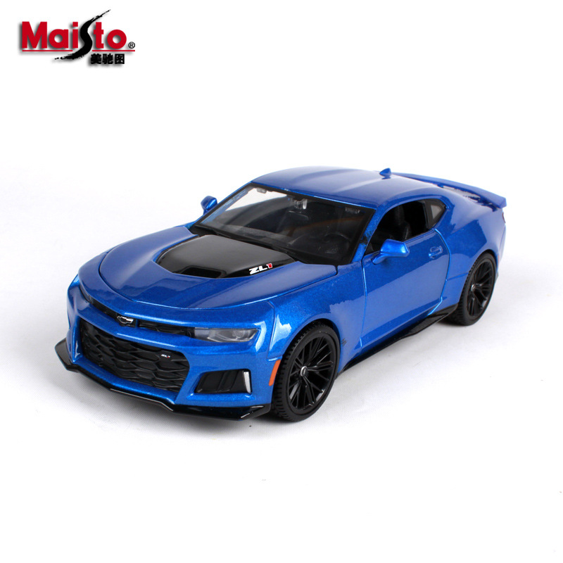 Maisto 1:24 2017 <font><b>Chevrolet</b></font> Camaro ZL1 Roadster simulation alloy car model simulation car decoration collection gift toy image