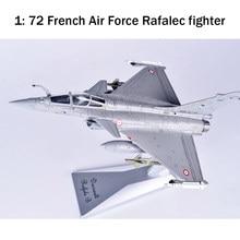 Modèle d'avion de chasse Rafal c de l'armée de l'air française 1:72, opération Hamantan en alliage de croatie