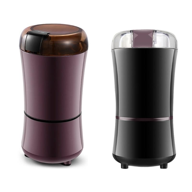 Home Electric Coffee Bean Grinder EU Plug Mill Grinding DIY Tool Multipurpose Herbs Salt Pepper Spices Nuts Grains Mini