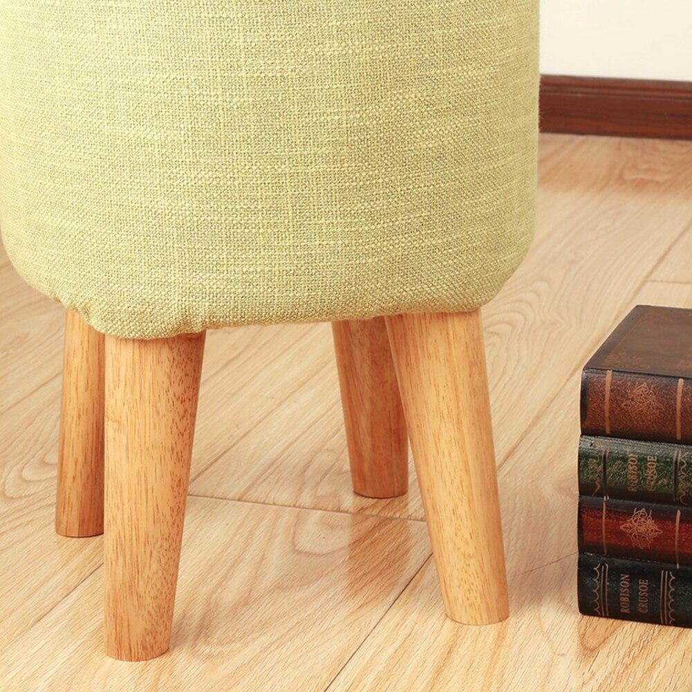 4pcs Oak Solid Wooden Sofa Legs Feet Tilted Coffee Table Furniture Level Feet Tea Table Cabinet Legs Multi-size Furniture Legs