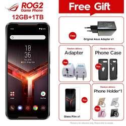 Перейти на Алиэкспресс и купить brand new asus rog phone ii zs660kl mobile phone 12gb ram 1tb rom snapdragon 855+ 6.59дюйм. nfc android9.0 rog phone 2 game phone