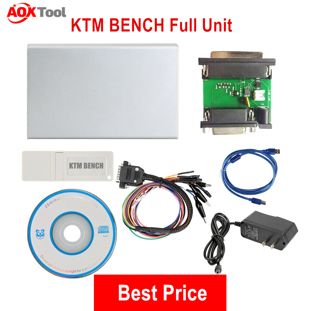 Best Price KTM BENCH Read and Write ECU Via Boot Bench V1 99 KTM-Bench Flash EEPROM