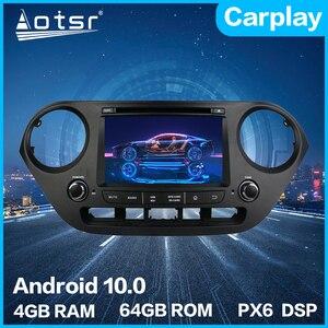 For Hyundai i10 2013 - 2018 Android Car Multimedia DVD Newest 10.0 4G 64GB PX6 Auto GPS Navigation Stereo Vide radio DSP Carplay