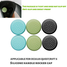 10Pcs Silicone Thumb Stick Grips Cover Button Caps VR Precise Replacsment For Oculus Quest 1 2 Rift S VR Game Accessories