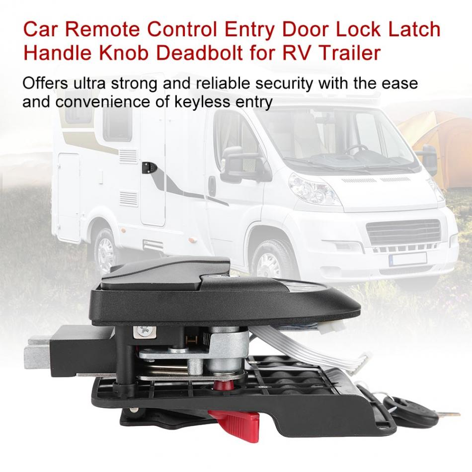 30M Remote-Control RV Entry Door Lock-2