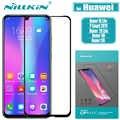 Protector de pantalla de vidrio Huawei Honor 20 10 Lite Nillkin 2.5D cristal templado Protector de seguridad de pegamento completo para Huawei Honor 20i 10i