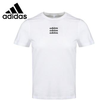 Original New Arrival  Adidas NEO W C+ TEE 1 Women's  T-shirts short sleeve Sportswear 1