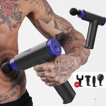 Пистолет для массажа мышц спортивный массажер релаксация облегчение