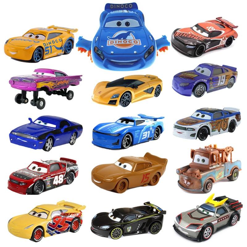 Машинка мульти-стильная Disney Pixar 3, новинка, Молния Маккуин Джексон шторм, Дымчатая металлическая модель автомобиля, подарок на день рождения,...