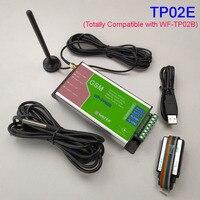 Surveillance de la température GSM, alarme SMS, batterie de rapport de journal de données de messagerie à l'intérieur pour l'alarme de panne de courant Compatible avec WF-TP02B