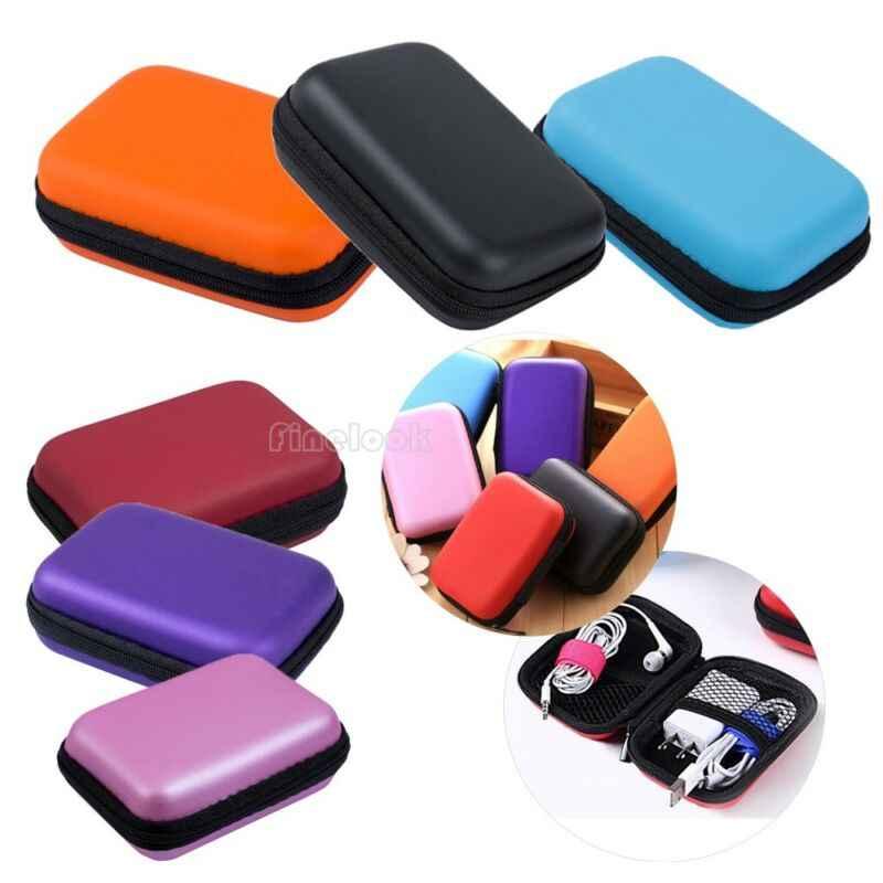 Lagerung Fall Tasche Tasche Box für SD TF Karte Kopfhörer Kopfhörer Headset Mini Lagerung Tasche