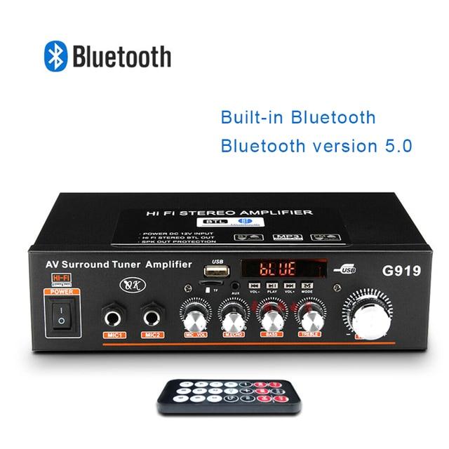 360W G919 Mini Stereo Power Amplifier   1