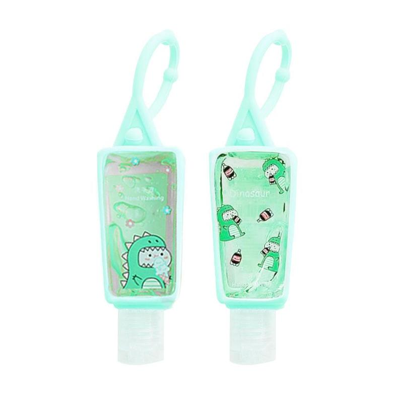 30ML Cute Hand Sanitizer Gel Antibacterial Fruit Scented No Clean Travel Portable Clean Moisturizing Antibacterial Handgel