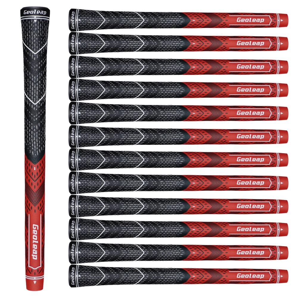 Geoleap ACE-S Golf Grips 13pcs/lot, Hybrid Golf Club Grips, Multi Compound,Midsize, 8 Colors Optional, Free Shipping