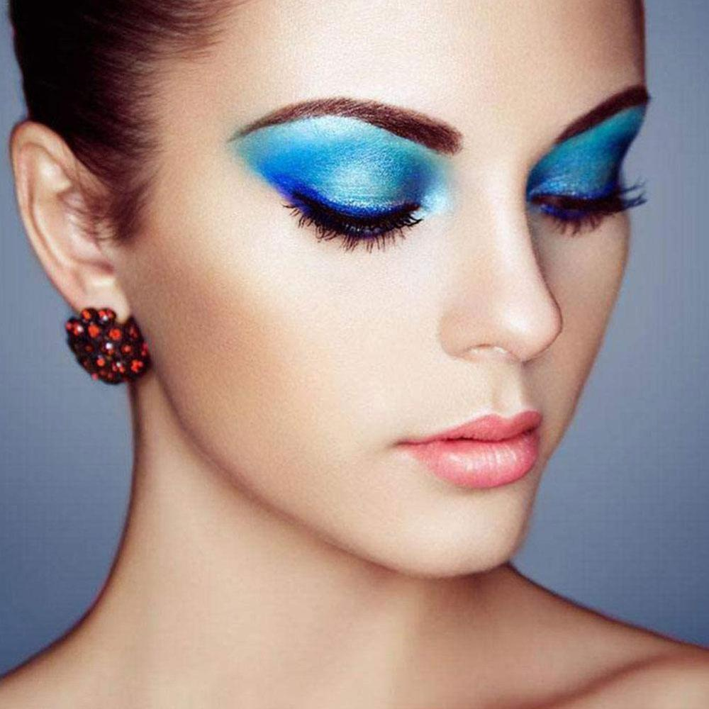 Color Matte 6 Colors 6 Layers Eye Shadow Powder Purple Blue Red Orange Green Yellow Stage Makeup New Product