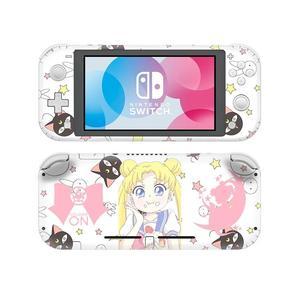 Image 5 - Adesivo de pele para nintendo switch, capa decalque de anime sailor moon nintendo switch lite