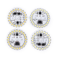 Светодиод лампа патч лампа SMD пластина круг модуль свет источник пластина для лампы свет